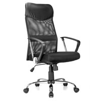 Ergonomic Adjustable High Back Office