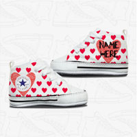 Love Heart Baby Converse