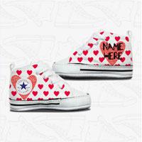 Love Heart Baby Converse