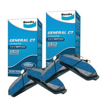 Bendix Brake Pad Set Front and Rear GCT