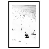 Little Bathers Right - 80X120 - Black Frame