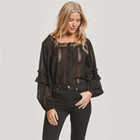 Bradshaw Blouse In Black
