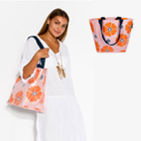 Blush Floral Small Mooleii Tote