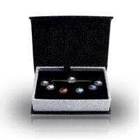 Interchangeable Pendant Necklace Box Set Embellished