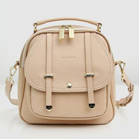 Camila Leather Backpack