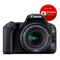 Canon EOS 200D w/EFS 18-55mm f/4-5.6 STM Lens Digital