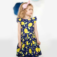 Clara Dress Lemonade