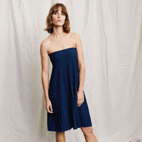 Edie Knit Skirt Navy