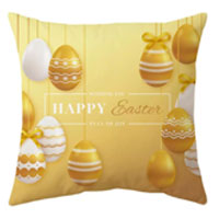 Easter Rabbit Eggs Pillowcase