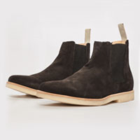 Ghost Chelsea Boot Charcoal Suede