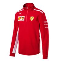 Men's Ferrari Team Half Zip Fleece