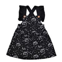 Mono Combi Cross Back Flutter Dress