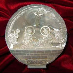 Hand Carved Mother of Pearl Nativity Set