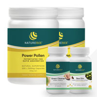 NatureBee Power Pollen Partner Pack