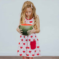Tennis Dress Pink Watermelon