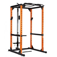 Mirafit M2 360kg Power Rack with Cable System