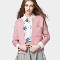 Seeya Side-Pocket Pink Jacket