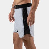 """Men's grey 7"""" training shorts"""
