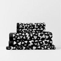 Inca Bath Towel Set - Black