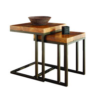 Tropica Jens Teak Nesting Side Table