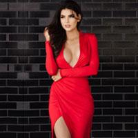 Valentine Dress In Red