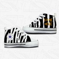 Zebra Baby Converse