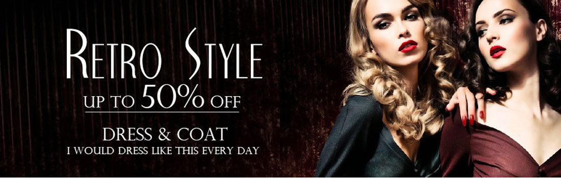 50% Off On Dresses & Coats