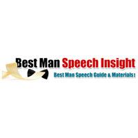Best Man Speech Insight Coupon Codes and Deals