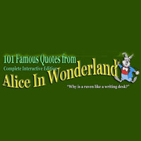 101 Famous Quotes From Alice In W Coupon Codes and Deals